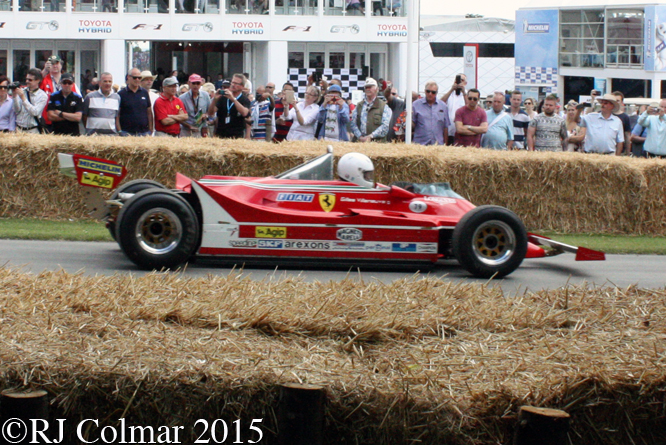 Ferrari 312 T5, Rick Hall, Goodwood Festival Of Speed,