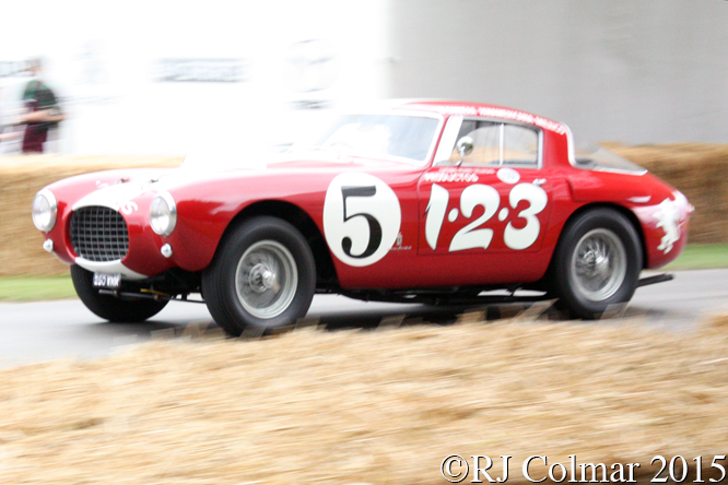 Ferrari 250MM, Holly Mason Franchitti, Goodwood, Festival of Speed,