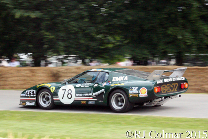Ferrari BB 512, Anette Mason, Goodwood Festival of Speed,