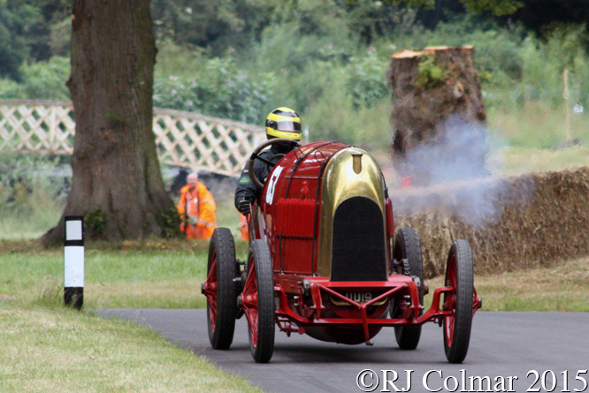 FIAT S76, Duncan Pittaway, Chateau Impney Hill Climb
