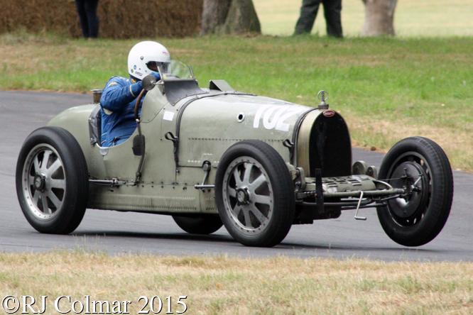 Bugatti Type 35B, Chris Hudson, Chateau Impney Hill Climb