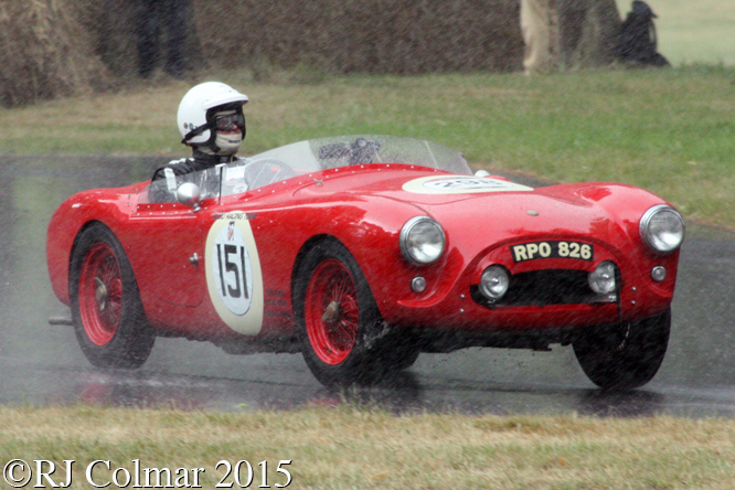 AC Ace Ruddspeed, Steve Gray, Chateau Impney Hill Climb