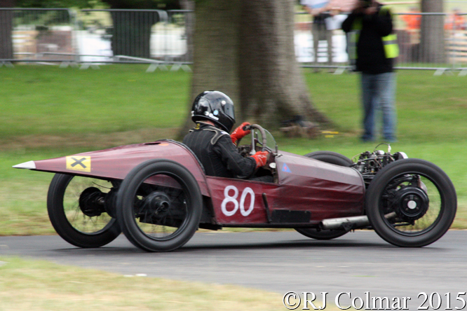 Mogan RIP Special, Charlie Martin, Chateau Impney Hill Climb