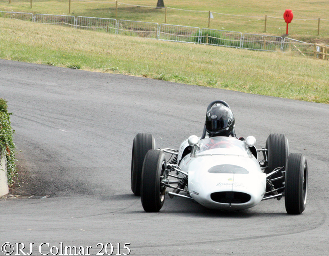 Lotus 20/22, Jack Woodhouse, Chateau Impney Hill Climb