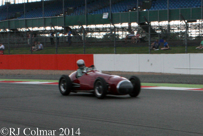 OSCA 4500G,  Stephan Rettenmaier, Silverstone Classic,