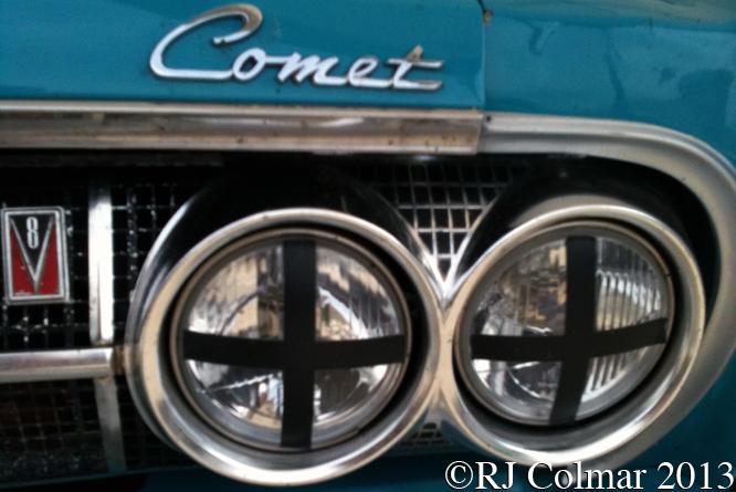 Mercury Comet Cyclone, Silverstone Classic,