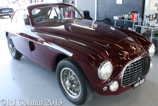 Ferrari 212 Export Touring Berlinetta, Silverstone Classic, Press Day,