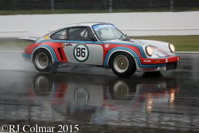 Porsche 911 RSR, Cooke, Dowd, Silverstone Classic