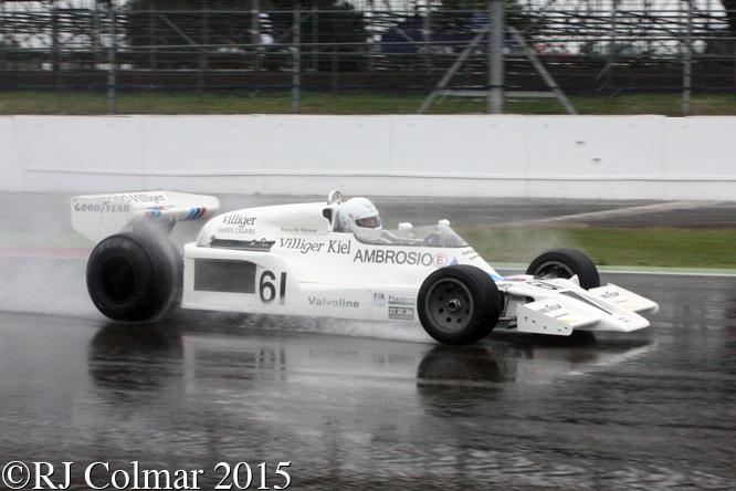 Shadow DN8, Jason Wright, Silverstone Classic,