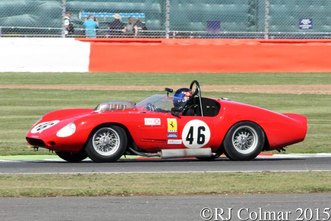 Ferrari 246S, Gregor Fiskin, Silverstone Classic