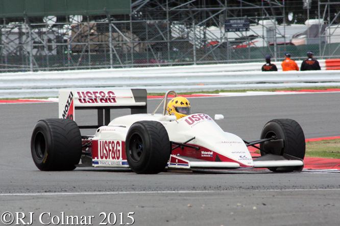 Arrows Megatron A10B, Mike Wilds, Silverstone Classic,