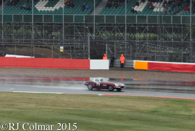 Jaguar E-Type, James Cottingham, Silverstone Classic,