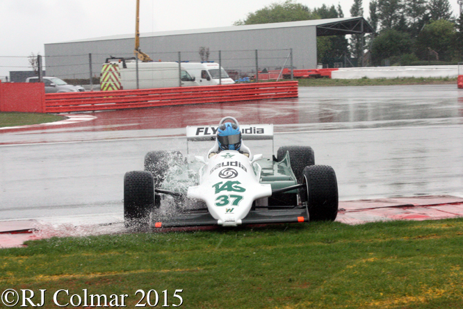 Williams FW07C, Christophe d'Ansembourg, Silverstone Classic