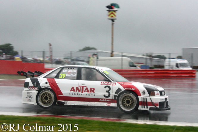 Audi 80 Quattro, Frank Wrathall, Silverstone Classic