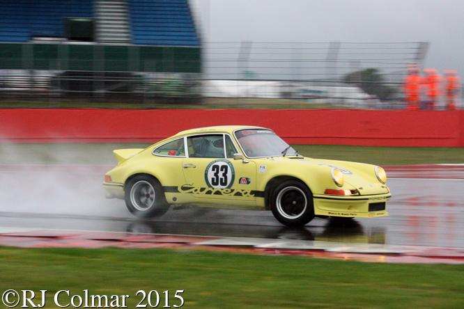 Porsche 911 RSR, Mark Bates, Silverstone Classic