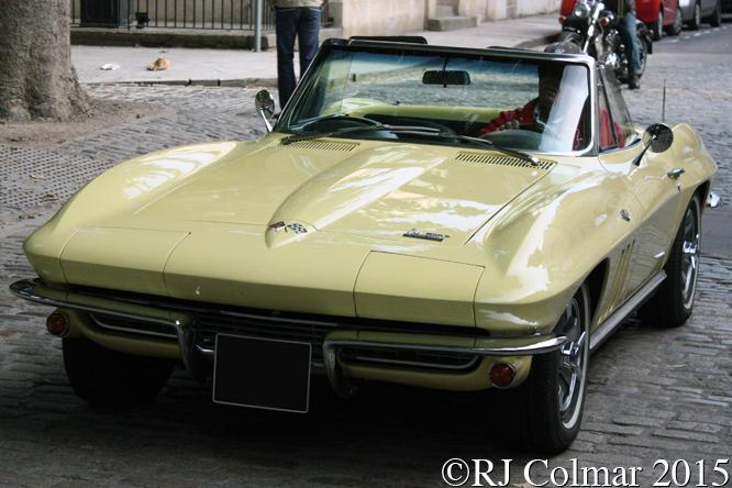 Corvette, Avenue Drivers Club, Queen Square, Bristol