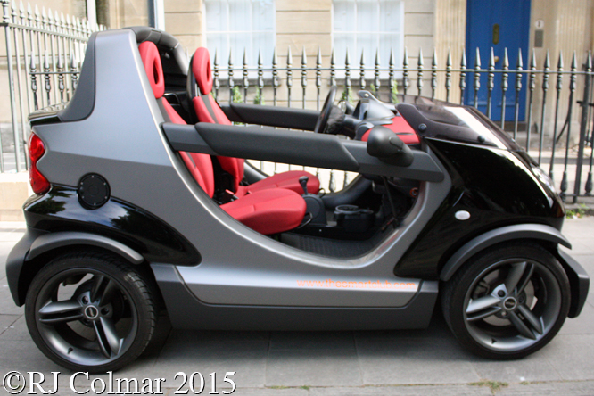 Smart Crossblade, Avenue Drivers Club, Queen Square, Bristol