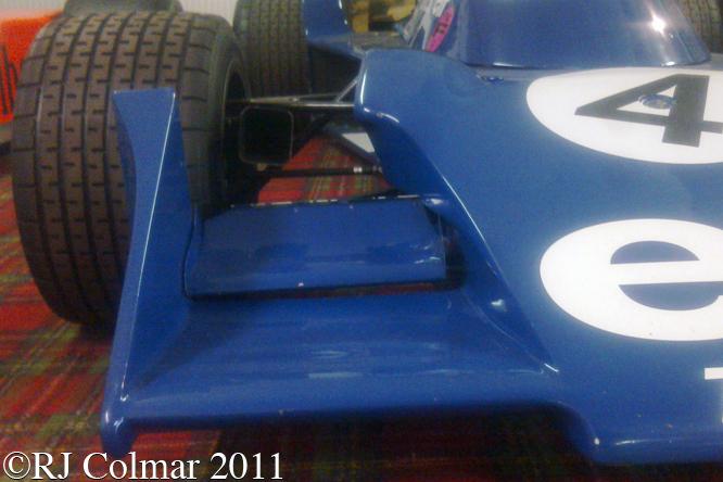Tyrrell Cosworth 007, Donington Park Museum
