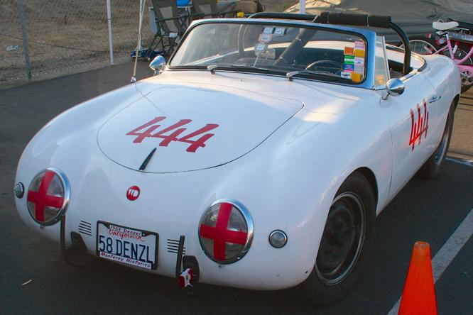 Denzel Roadster, Rolex Monterey Motorsports Reunion,