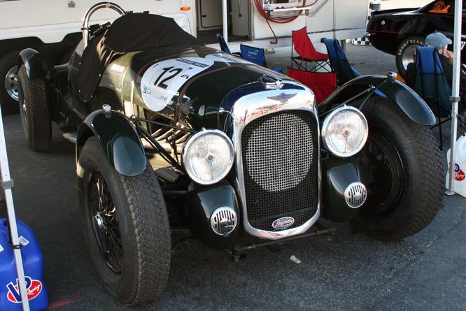 Lagonda V12, Rolex Motorsports Reunion, Laguna Seca
