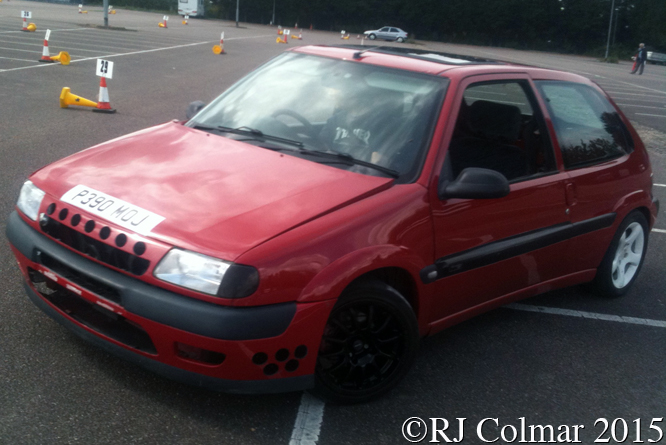 Citroen Saxo, George/Ashley Pope, Rolls Royce Car Park, Filton