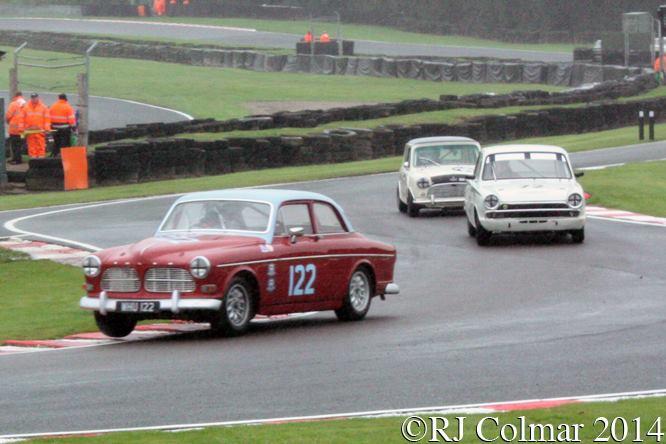 Volvo 122, Gavin Watson, Oulton Park