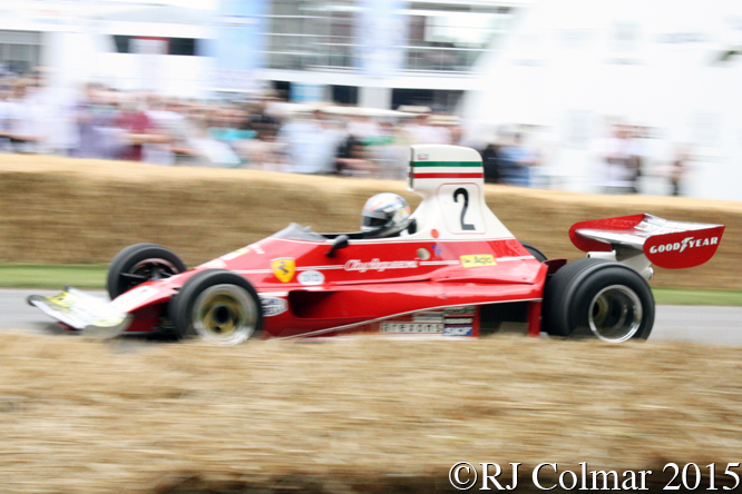Ferrari 312T, Rob Hall, Goodwood Festival of Speed,