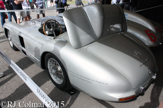 Mercedes 300 SLR, Goodwood, Festival of Speed,