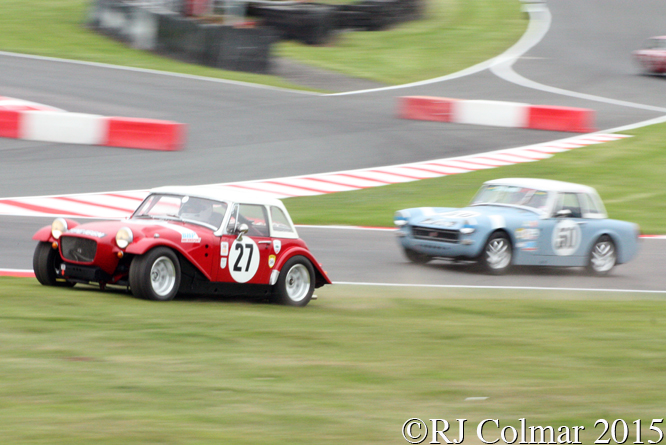 MG Arkley, Chris Fisher, Gold Cup, Oulton Park,