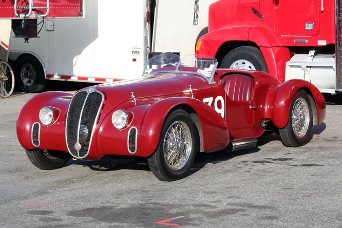 ALFA Romeo  6C 2500 Super Sport, Rolex Monterey Motorsports Reunion,