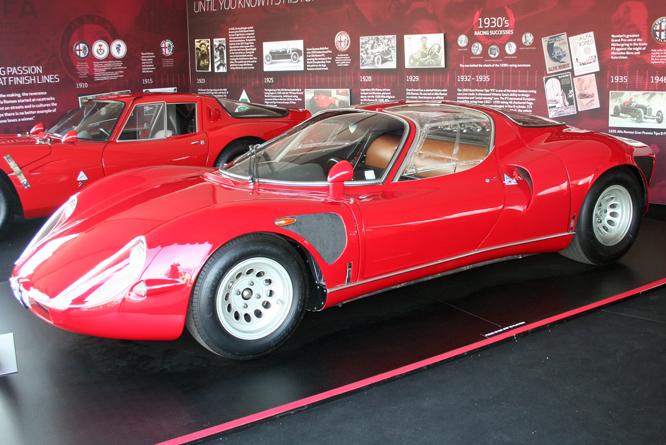 ALFA Romeo Tipo 33 Stradale, Rolex Monterey Motorsports Reunion,