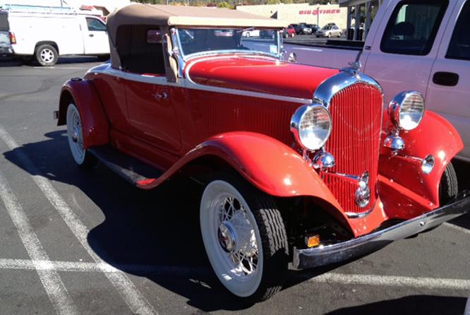 Plymouth PB, California,