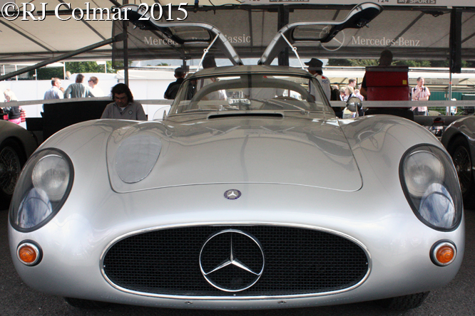 Mercedes Benz 300 SLR Coupé. Goodwood Festival of Speed