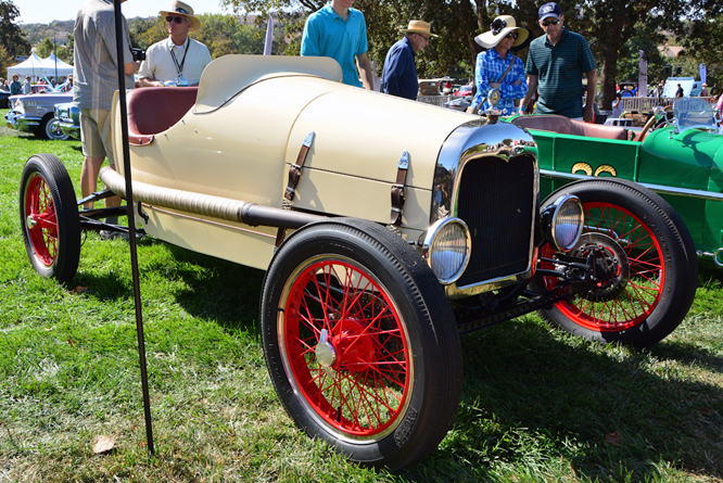 Ford Speedster, Niello at Serrano Concours d'Elegance