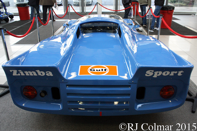 Chevron Cosworth B16, Race Retro, Stoneleigh