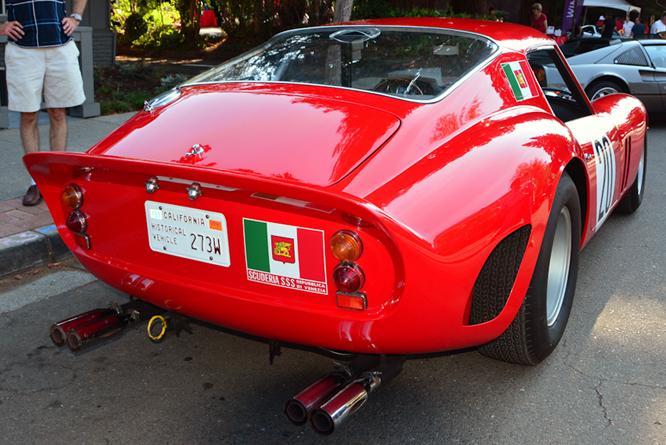 Ferrari 250 GTO, Danville Concours d'Elegance,