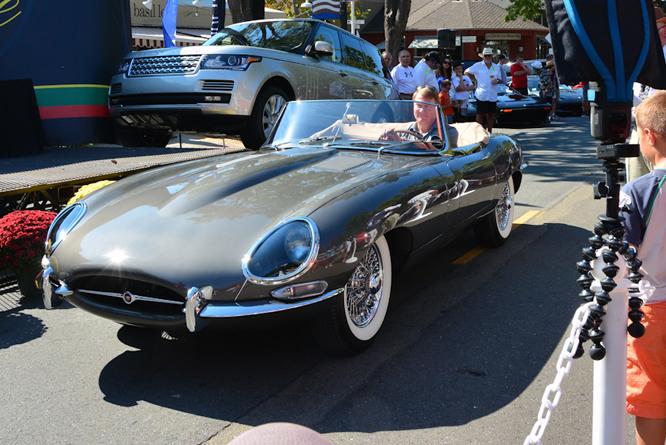 Jaguar E-type, Danville Concours d'Elegance