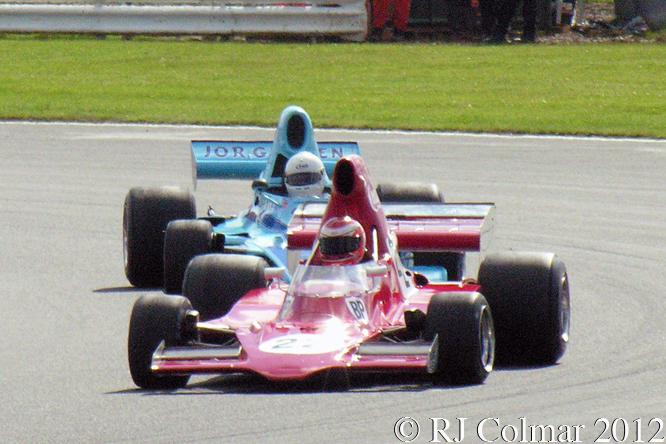 Lola T400, Mark Dwyer, Silverstone Classic