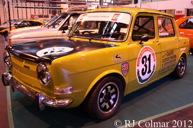 Simca 1000 Rallye 2, Classic Motor Show, NEC, Birmingham
