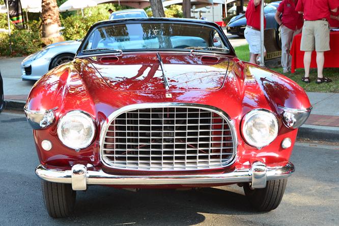 Ferrari 250 Europa Vignale Coupé, Danville Concours d'Elegance,