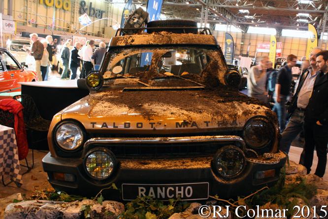 Talbot Matra Rancho, Classic Motor Show, NEC, Birmingham,