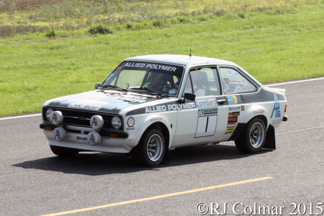 Ford Escort RS1800, Vatanen, Rally Day, Castle Combe,