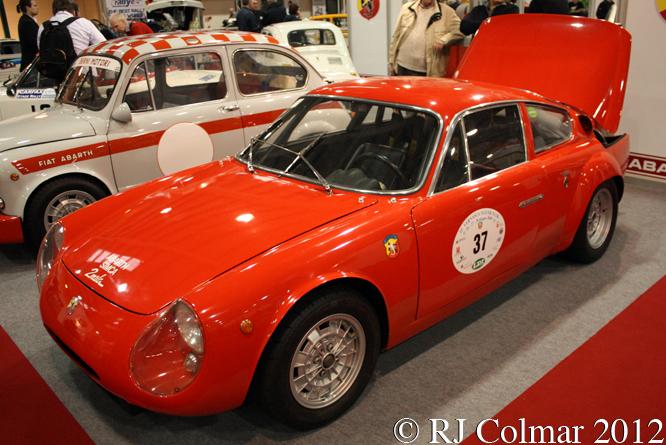 Abarth Simca 2Mila, Race Retro, Stoneleigh