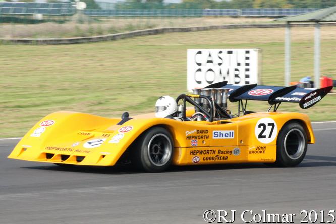 BRM P167, Autumn Classic, Castle Combe