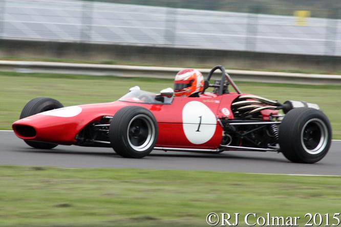 Chevron Novamotor B17, Jim Blockley, Grand Finals, Castle Combe,