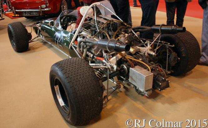 Cooper Daimler T87,  Classic Motorshow, NEC, Birmingham