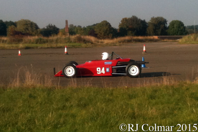 Merlyn Mk 30, Colin Glass, Hertfordshire County Auto & Aero Club, Autumn Sprint, Debden Airfield, Essex