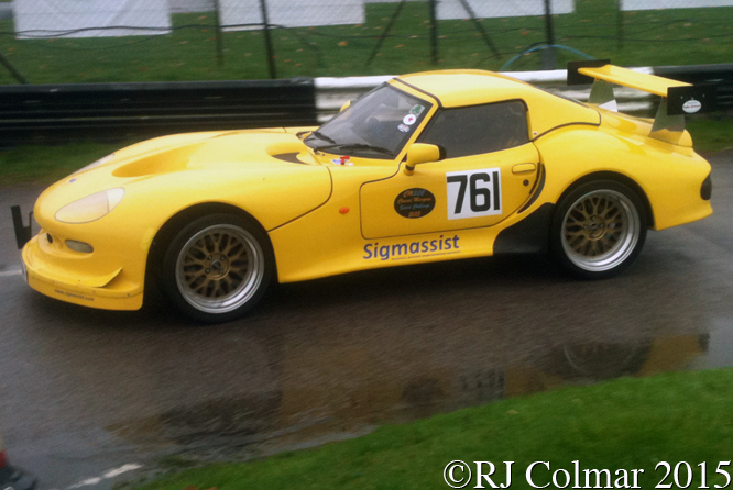 Marcos Mantis, Philip Jones, MANBAT Pegasus Sprint, Castle Combe