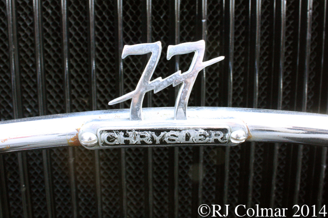Chrysler 77 Royal Coupé, 2014 Classic Run, Chipping Sodbury