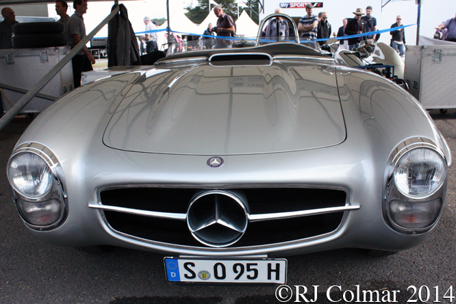 Mercedes Benz 300 SLS, Goodwood, Festival of Speed,